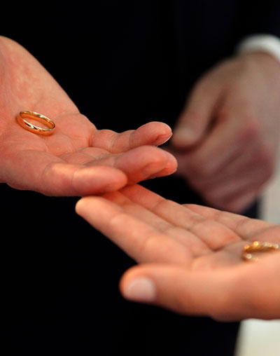 Yvonne Wood Wedding & Marriage Celebrant - Ceremonies and Services - Blessing of the Rings