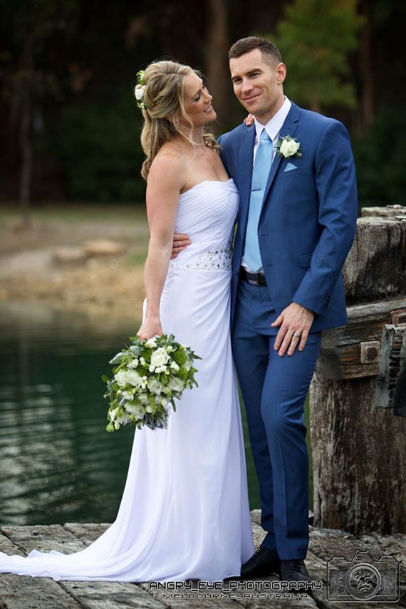 Yvonne Wood Wedding & Marriage Celebrant - Dea and Andrew