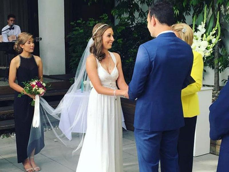 Yvonne Wood Wedding & Marriage Celebrant - Tributes - Brooke and Pete - Leonda by the Yarra Wedding Celebrant