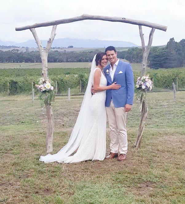 Yvonne Wood Wedding & Marriage Celebrant - Tributes - Lea and Dan