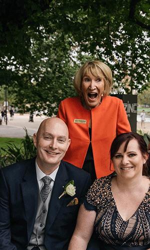 Yvonne Wood Celebrant - Vow Renewal Ceremony